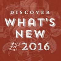 What's New for 2016