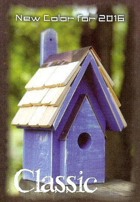 Heartwood Classic Bird House - Blueberry 076H