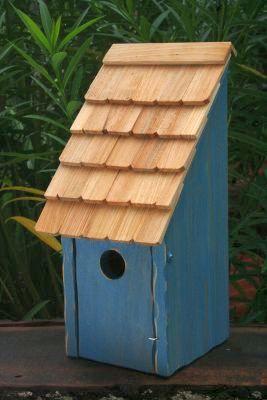 Heartwood Bluebird Bunkhouse Bird House - Blue 192A