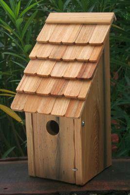 Heartwood Bluebird Bunkhouse Bird House  - Natural 192C