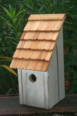 Heartwood Bluebird Bunkhouse  Bird House - White 192E