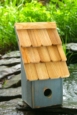 Heartwood Fruit Coops Bird House - Blueberry 193A