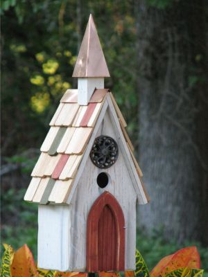 Heartwood Jubilee Bird House - White 194A