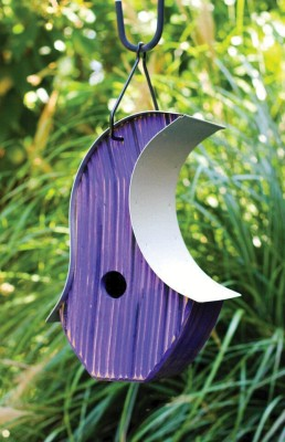 Heartwood Mod Pod Bird House - Purple 234A