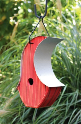 Heartwood Mod Pod Bird House - Red 234B