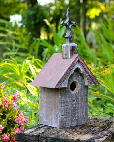 Heartwood Cottonwood Chapel Bird House 242A
