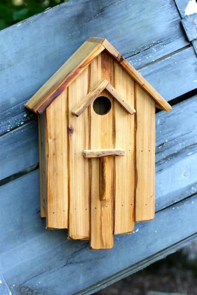 Heartwood Huck's Hideaway Bird House HRT-244A