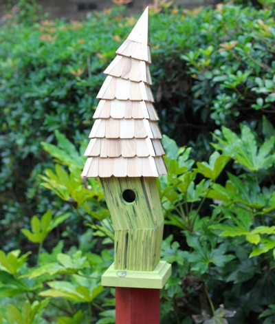 Heartwood Birdiwampus Bird House, Citrus 247C