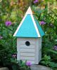 Heartwood Gatehouse Bird House - Turquoise 089G