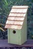 Heartwood Bluebird Bunkhouse Bird House - Green Apple 192B
