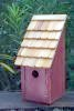 Heartwood Bluebird Bunkhouse Bird House - Redwood 192D
