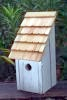 Heartwood Bluebird Bunkhouse  Bird House - White 192E