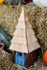 Heartwood Lord of the Wing Bird House - Blue 195A