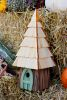 Heartwood Lord of the Wing Bird House - Moss Green 195B
