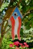 Heartwood Betsy's Birdhouse - Antique Red White and Blue 211A