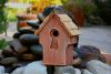 Heartwood Peeper Keeper Birdhouse - Rustic Red 212A