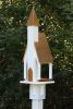 Heartwood Mount Manna Bird Feeder - White Cellular PVC/Bright Copper Roof 218A